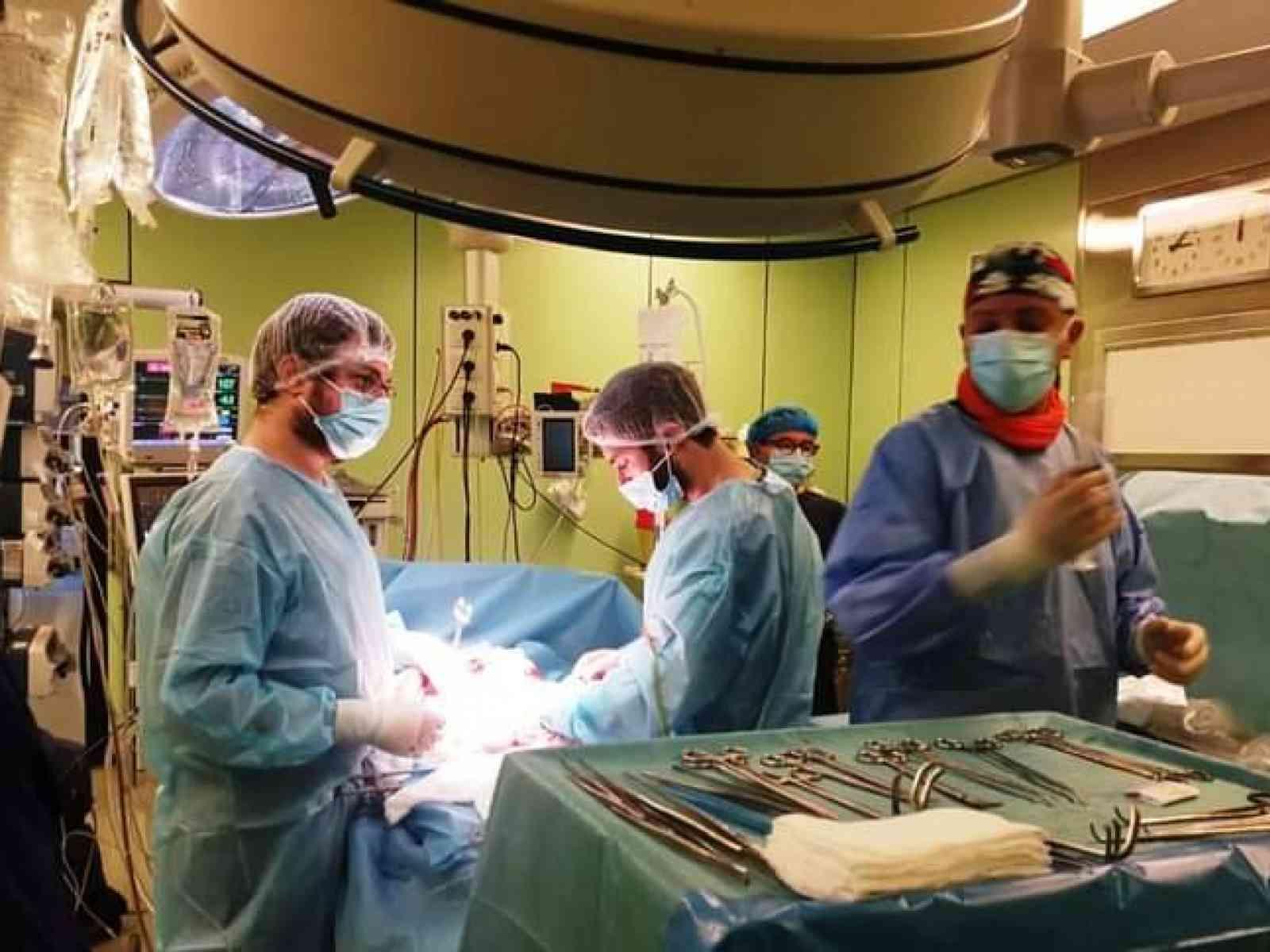 Immagine articolo: Ospedale di Agrigento, eseguito prelievo multi organo ad un paziente deceduto per emorragia cerebrale.