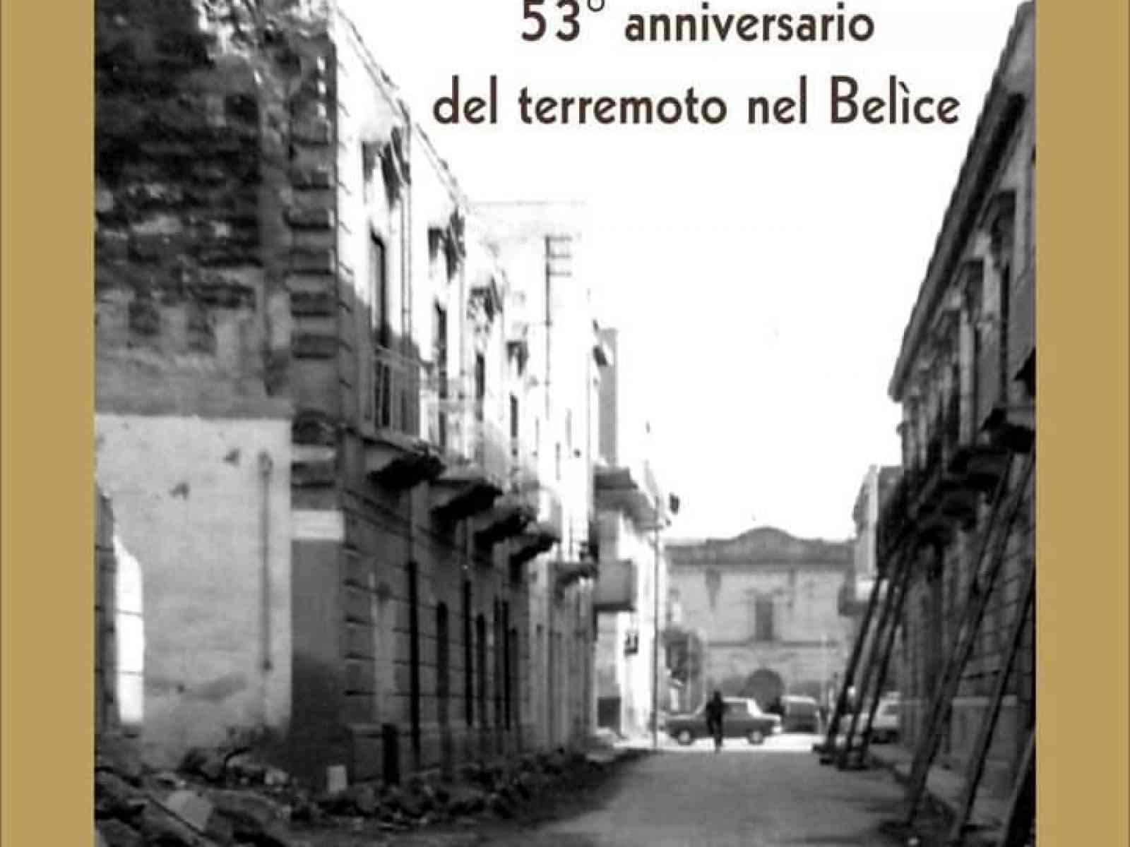 Immagine articolo: Cinquantatre anni dal sisma che sconvolse il Belìce. Il Comune di Menfi ricorda le vittime
