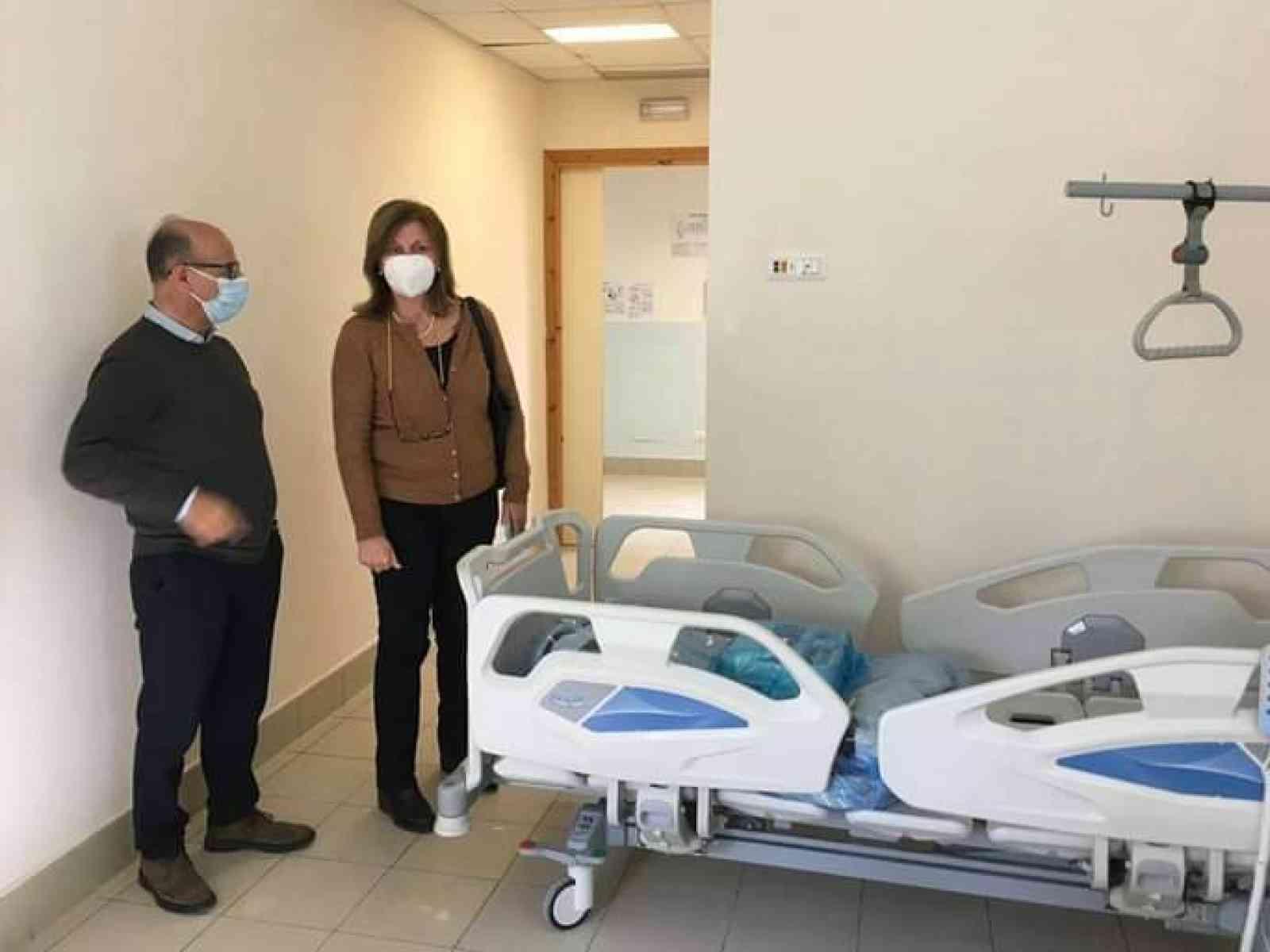 """Immagine articolo: Covid, La Rocca Ruvolo:"""" a Ribera pronti i primi posti di degenza ordinaria, in via di ultimazione terapia intensiva e sub-intensiva"""