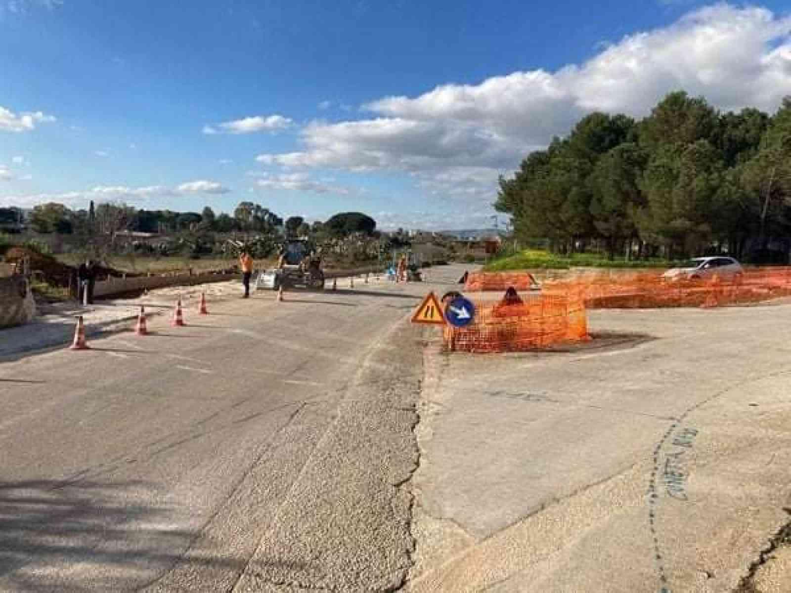 Immagine articolo: Montevago, al via la sistemazione dei 4 snodi di accesso al paese. La soddisfazione del sindaco La Rocca