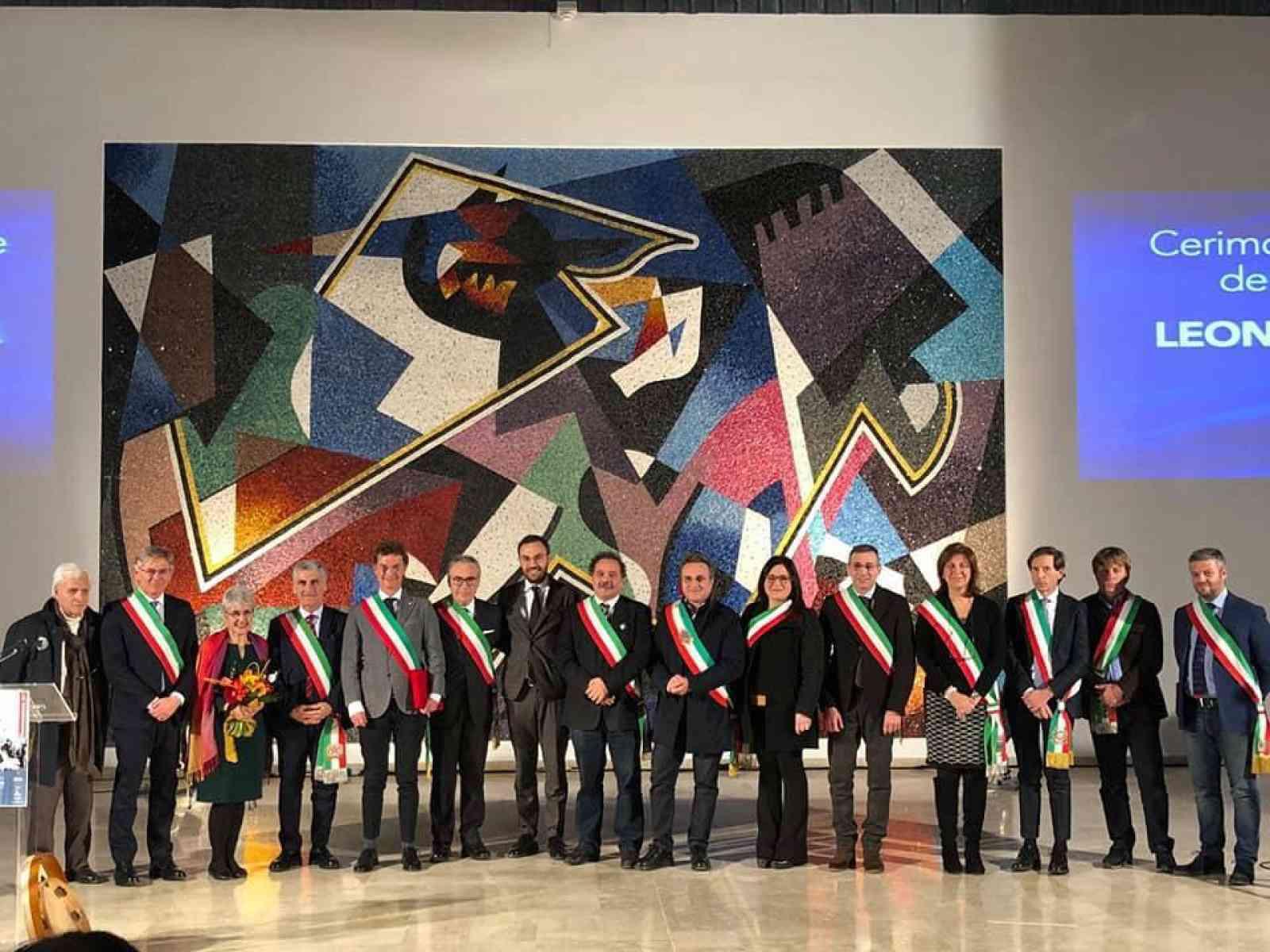 Immagine articolo: Gibellina, intitolata a Leonardo Sciascia la sala Agorà. Tante le autorità presenti
