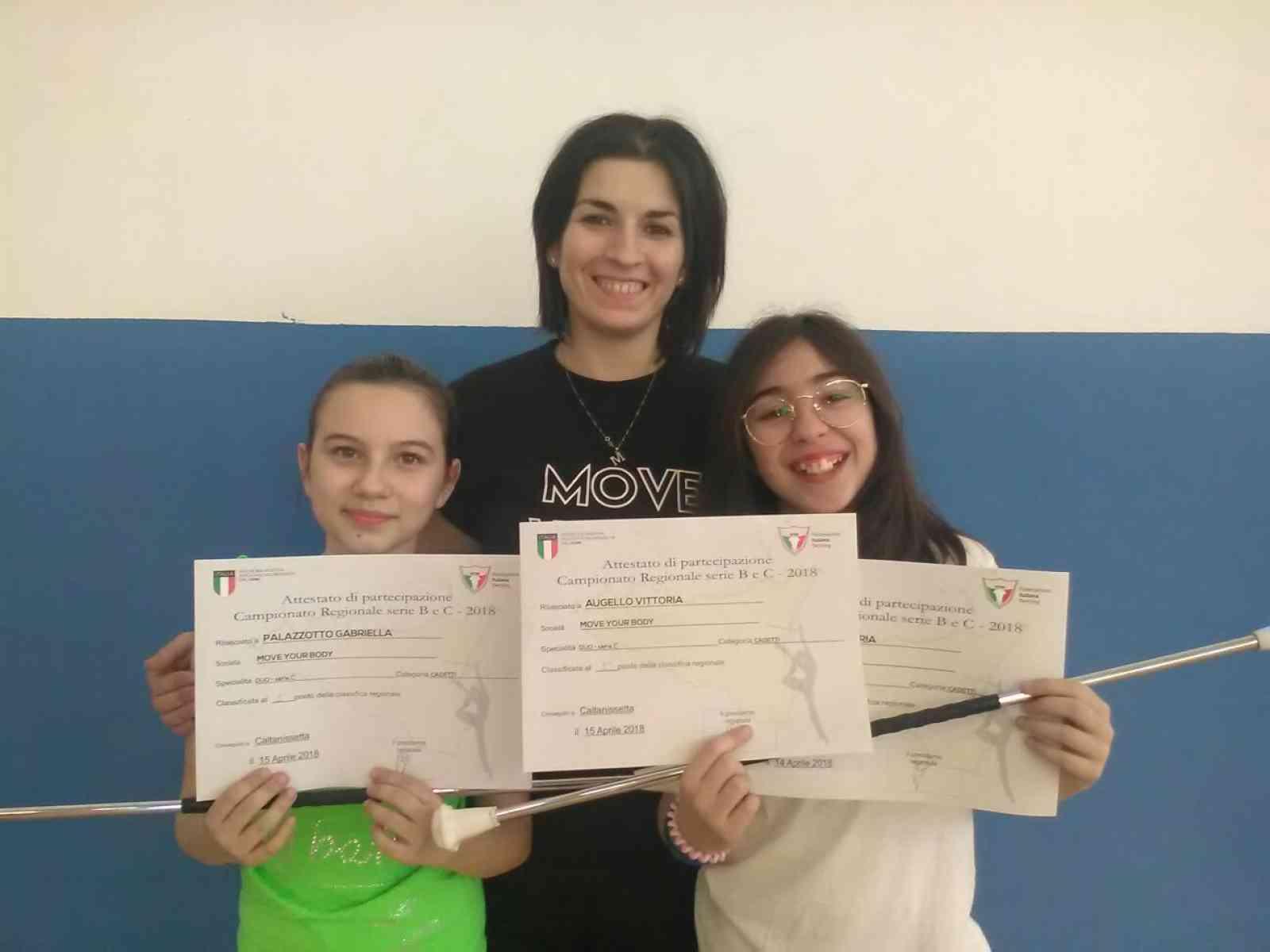 Immagine articolo: Poggioreale, due giovanissime atlete pronte al debutto al campionato italiano Twirling. Oggi la cerimonia di apertura del torneo nazionale