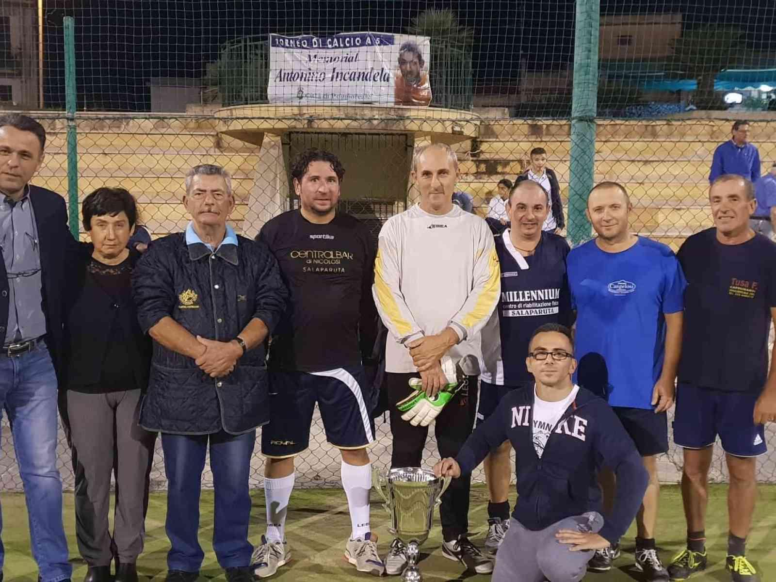 Immagine articolo: In ricordo di Antonino Incandela, grande partecipazione per il 6° Memorial di calcio a 5 a Poggioreale. Ecco chi ha vinto il torneo