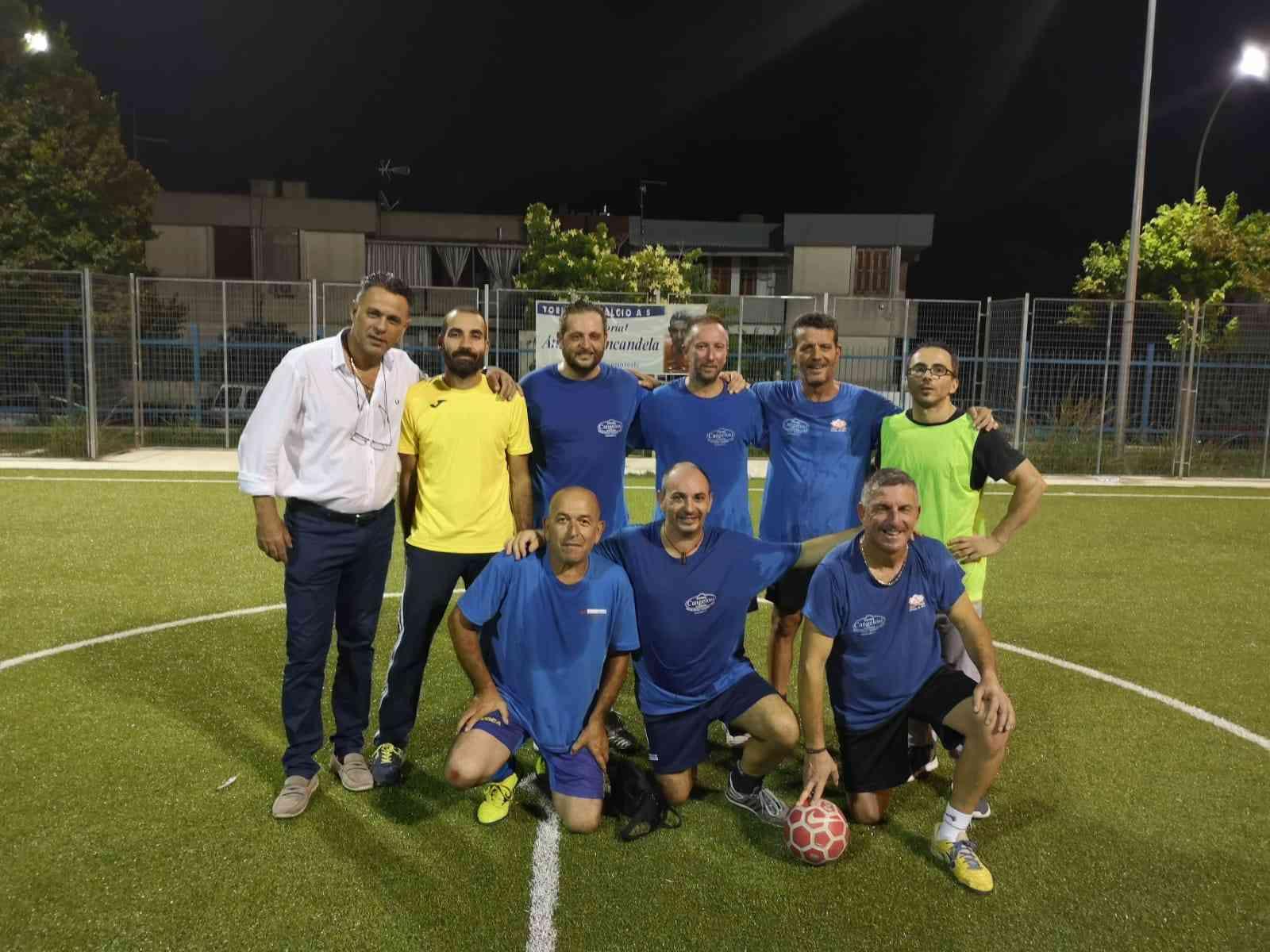 """Immagine articolo: Concluso il 7 Memorial """"Antonino Incandela"""" di calcio a 5 Over 40 Città di Poggioreale"""