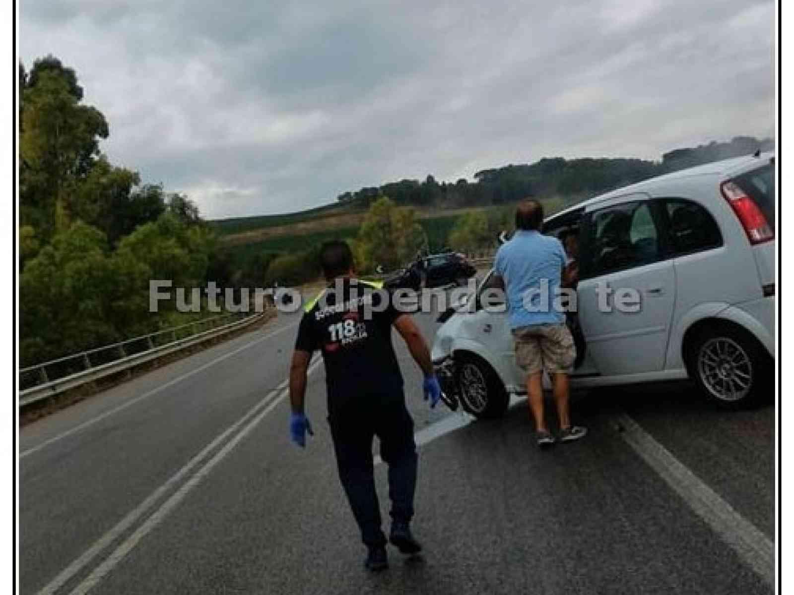 Immagine articolo: Due incidenti ieri sulla Palermo-Sciacca. Coinvolto l'ex Assessore di S. Margherita Tanino Bonifacio