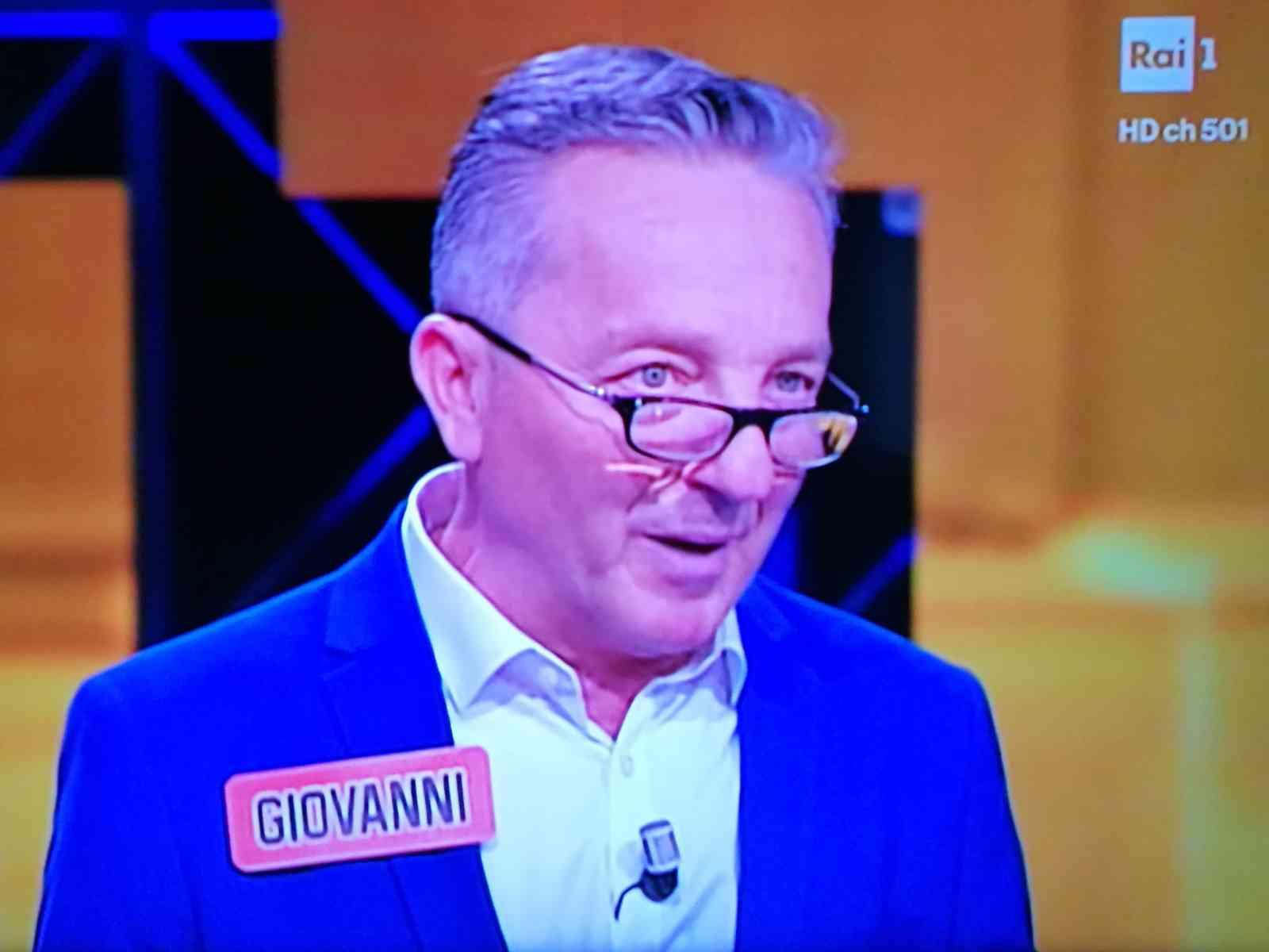 Immagine articolo: Il menfitano Giovanni Buscaglia, a l'Eredità di stasera su Rai1