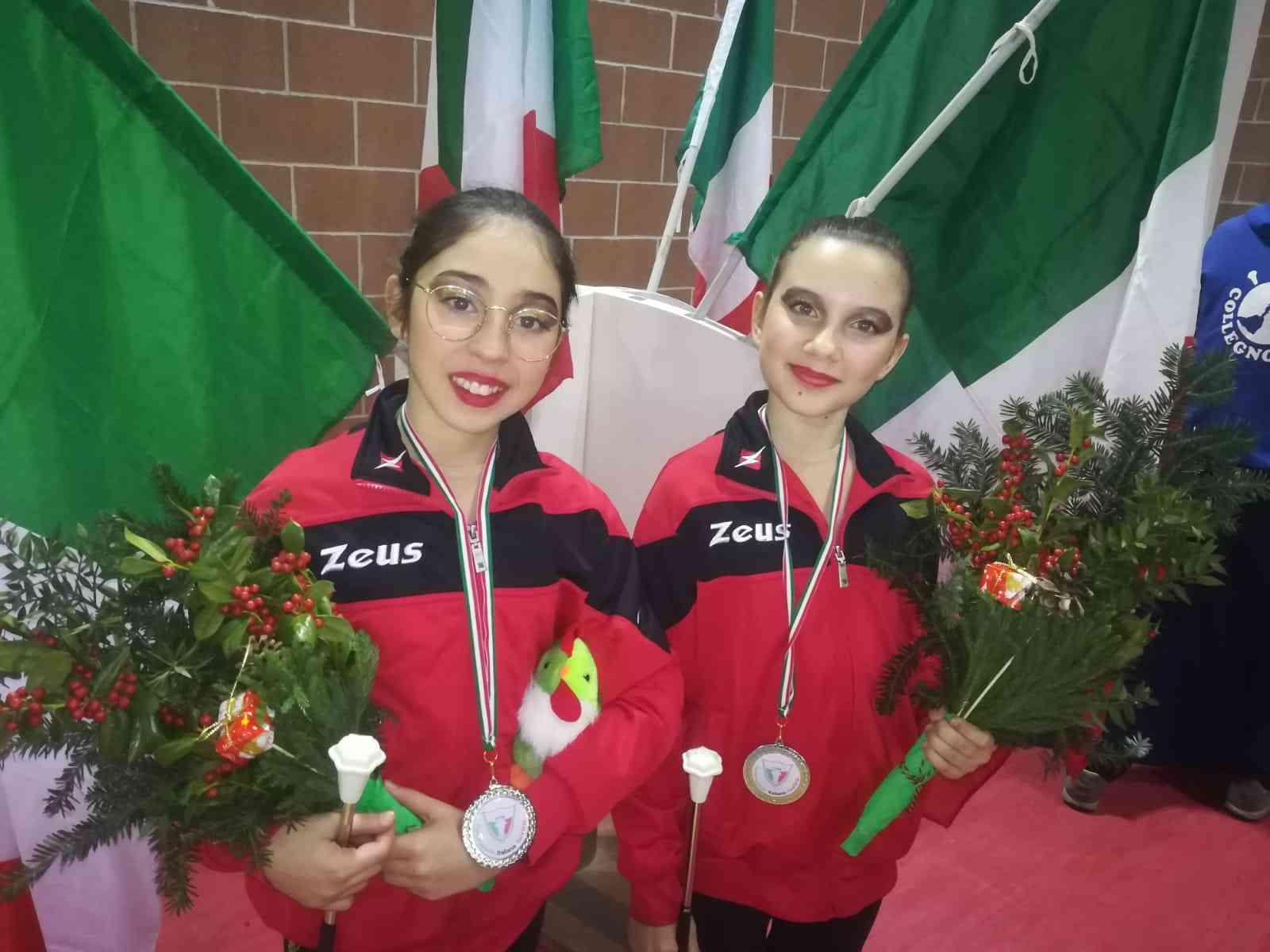 Immagine articolo: Poggioreale, giovanissime atlete di twirling vice campionesse italiane