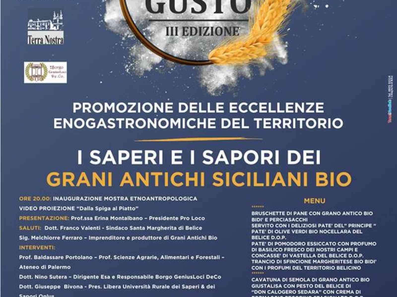 """Immagine articolo: Domani a Santa Margherita di Belìcela la """"notte del gusto"""". Ecco il calendario degli eventi gastronomici previsti"""