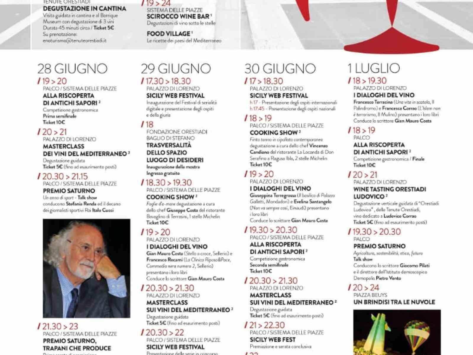 Immagine articolo: Gibellina, al via lo Scirocco Wine Fest. Quattro giorni di vino e culture mediterranee