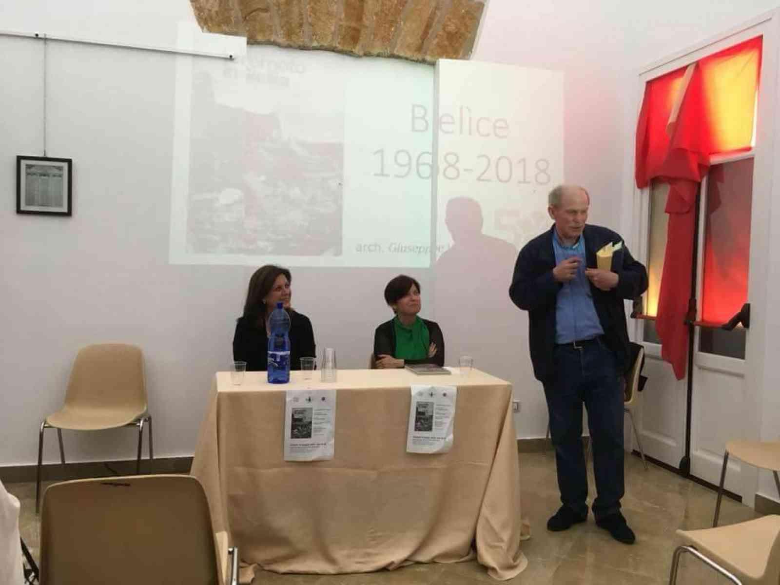 """Immagine articolo: Montevago non dimentica. Presentato il libro di Giuseppe Carlo Marino """"'68, terremoto in Sicilia 50 anni dopo"""""""