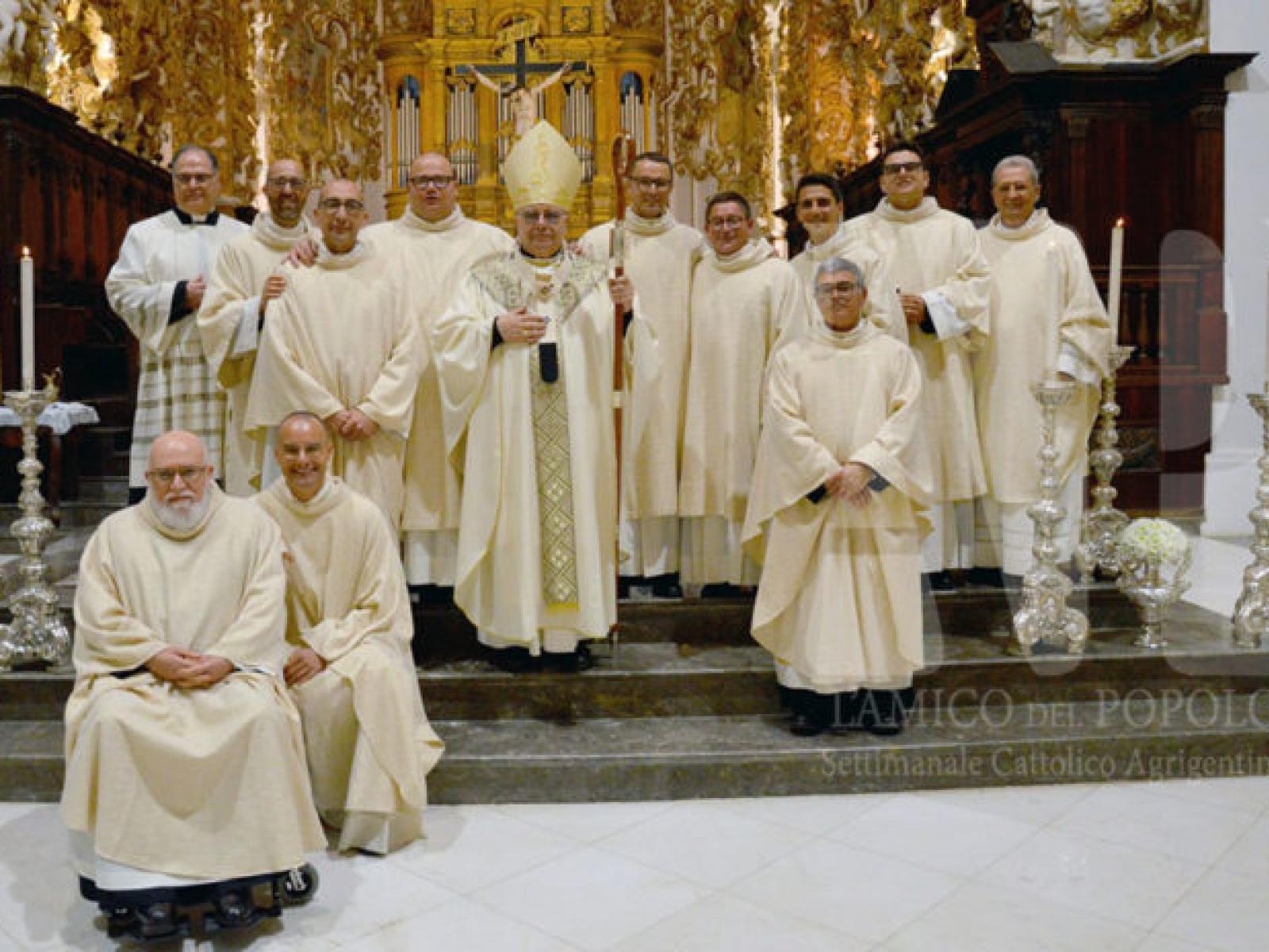 Immagine articolo: Il prossimo 1° Ottobre saranno ordinati nuovi presbiteri i diaconi. Per Menfi ci sarà Salvatore Piazza