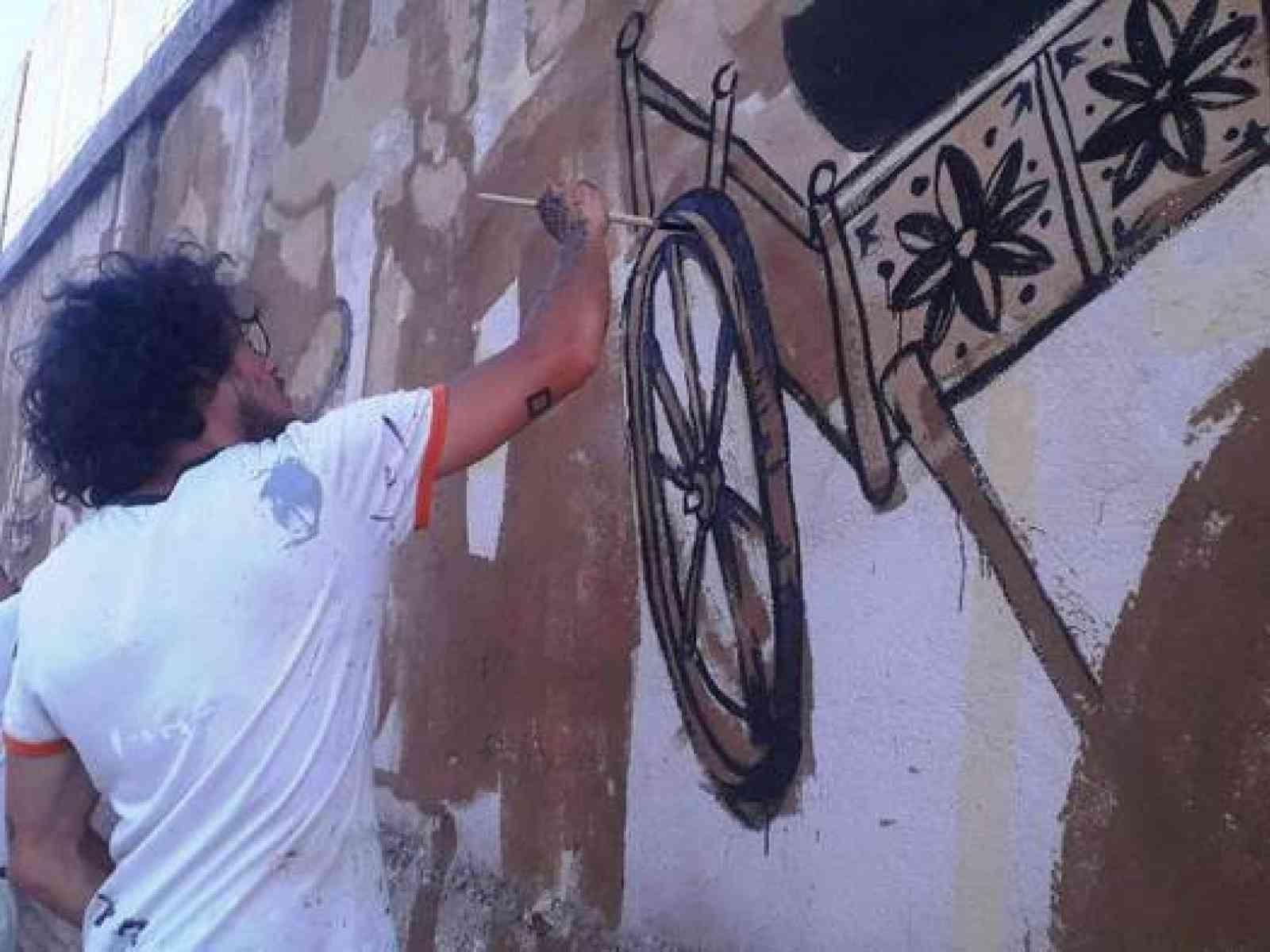 Immagine articolo: Montevago Street Art, creativi al lavoro. Arte e cultura per la rigenerazione urbana
